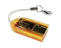 Wholesale Factory price TINY Keyring USB MICRO SD SDHC TF CARD READER GB GB USB Tiny T Flash TF Memory READER
