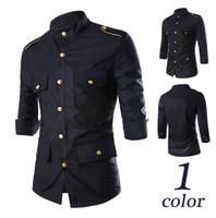 Wholesale Jeansian Mens Fashion Cotton points sleeve Designe Slim Fit Dress men Shirts Tops Western Casual Shirts M XXL