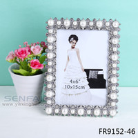 best friend photo frames - Limited Real inches White Fashion Vintage Romatic Picture Frame Imitation Pearl Art Photo Picture Frame Best Friend Gift