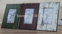 art and craft photo frames - Free shipment Vintage photo wood frame fashion home decoration Creative arts and crafts gifts