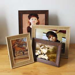 Wholesale varies size fashion vintage wooden photo frame antique wood picture frames home decoration