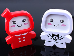 Wholesale Cute Mini Cartoon ABS Picture Photo Frame For Baby Students Kidss Child Keepsake Souvenirs Good Quality