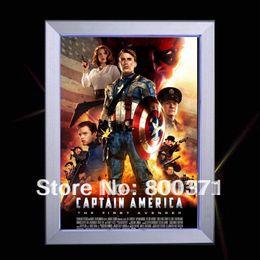 Wholesale Aluminum picture poster frame led light box movie poster led light box