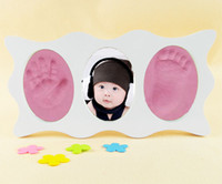 baby hand footprints - Hand and footprints baby inkpad printing inks photo frame