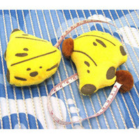 Wholesale Free transport New Novelty Cute Portable Mini Banana Tape Measure Cartoon Tape Measure