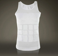 Wholesale Bodysuit men TV Good Slimming Vest Shirt Fatty Undershirt Corset Body Shaper Weskit Undershirt