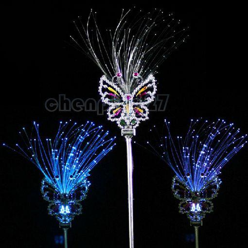 2017 wholesale butterfly wand glow stick party favor for Butterfly wands wholesale