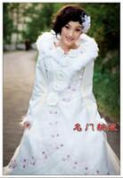 Model Pictures 2010 wedding dresses - 2010 Fashion winter Long Sleeve applique zipper up back Wedding Dresses style