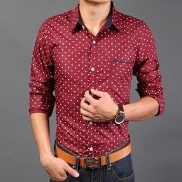 Mens red polka dot shirt artee shirt for White red polka dot shirt