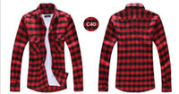 best western shirts - New Fashion Gentle Men s Shirt Long Sleeve Best Collection Western Grid Pattern Plaid Tops Shirts