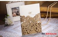 Wholesale Wedding Invitations Elegant Laser Cut Wedding Invitations Wedding Invitation Paper Card Convite De Casamento