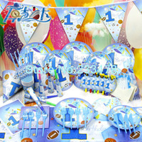 baby sports theme - Luxury Kids Birthday Party Decoration Set Sunny Sport Boys Theme Party Supplies Baby Birthday Party Pack CK