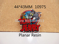 Wholesale Y10975 mm flat back cartoon planar resin for diy holiday decoration crafts accessories
