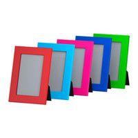 Wholesale pieces fibreboard plastic photo frames