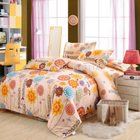 beautiful quilt covers - Beautiful flower bedding set bedclothes include quilt cover bed sheet pillowcase yellow flowers