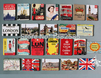 Wholesale London scenery fridge magnet Queen Big Ben Tower Bridge Travel refrigerator magnetic Keep Calm souvenir gift sticker