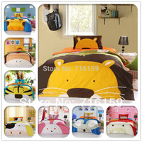 baby pictures twins - bedding set cotton zoo picture twin fullsize bed sheet bedclothes for children baby bed linen bp11