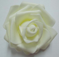 Wholesale cm High Quality Handmade Artificial Foam Rose Flower Heads For Wedding Decoration Kissing Ball