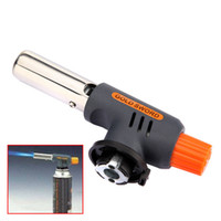 Wholesale Portable Gas Jet Torch Flame Maker Gun Lighter Butane Weld Burner for Welding Camping Picnic Heating BBQ