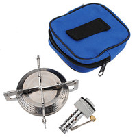 best camping stoves - Best Price Outdoor Picnic Barbecue Gas Burner Camping Mini Portable Stainless Steel Collapsible Bracket Stove Case