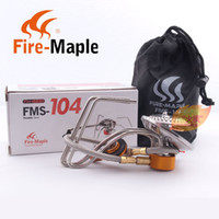 Wholesale Fire Maple FMS Camping S S Gas Stove Portable Foldable Burner w Igniter g W