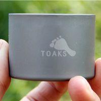 Wholesale TOAKS Titanium Siphon Alcohol Stove mini Ultra Light titanium Alcohol Stove g