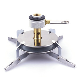 Wholesale Lightweight Disc Burner Classic Camping and Backpacking Stove For iso Butane Propane Canisters