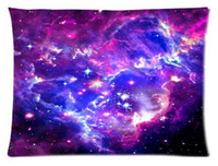 background cats - Galaxy Hipster Cat Color Galaxy Background Custom Rectangl Pillow Cases Cotton High Quality Standard Size
