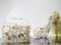 italian shoes - italian shoes and bag Gold Wedding Shoes high quality italian women shoes and matching bag