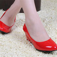 High Heels 2015 Women Shoes Heels Round Toe Square Heels Female Flower Pumps Cheap Work Shoes