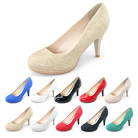 sexy lady nude - SHOEZY brand new hot womens pumps high heels closed toe patent leather suede glitter shoes woman sexy office ladies stiletto