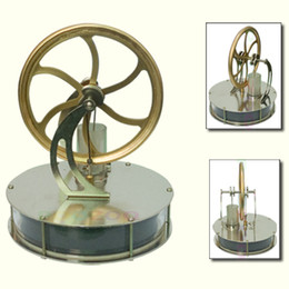 Wholesale-Brand New Low Temperature Stirling Engine Educational Toy Kit Gift