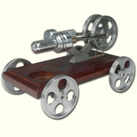 air driven engine - a fancy vehicle driven by hot air stirling engine great toy
