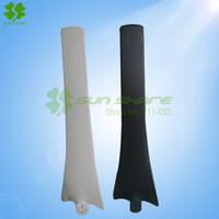 Wholesale The wind blades blades right for Max power w wind mill white and black color