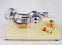 Wholesale New Stirling Engine Steam Engine Model Educational Toy Kits KM03