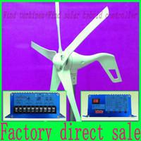 solar power generator - wind generator W max blade V V wind power turbine W max Wind solar hybrid Controller with RoHS CE Certification