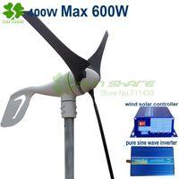 solar power generator - Max power W v v cheapest wind generator w wind solar controller w pure sine wave inverter