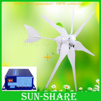 solar generator - HOT SALES blades windmill generator generator solar wind generator charge controller DC V V FOR HOME LED