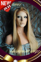 beautiful indian remy - New Beautiful quot Silky Straight Lace Front Human Hair Wigs Indian Remy Hair