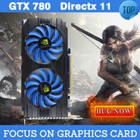 Wholesale GTX780 Mb DIrectx video card gtx placa de video nvidia graphics video cards GTX Nvidia Geforce Graphics Cards for Games