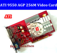 agp pci card - From factory low end AGP video card from factory NEW original ATI Radeon MB DDR2 AGP x x video Card