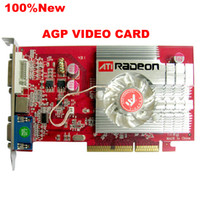 agp video cards - New ATI Radeon MB DDR2 Memory AGP D Dvi S video VGA Video Card