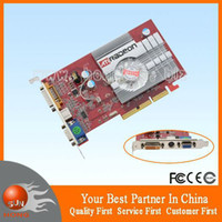 ati agp video cards - New ATI Radeon AGP MB Graphics Video Card S Video VGA DVI dropship with tracking number