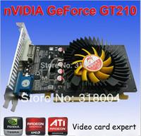 arrow express - Brand Sky Arrow video card nvidia GT210 graphics card TC1G DDR2 bit VGA DVI PCI Express quality guarantee year warranty