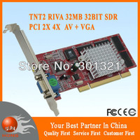 Wholesale for New and cheapest NVIDIA RIVA TNT2 M64 MB PCI VGA Video Graphic Card with tracking number