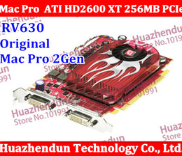 Wholesale Original Mac Pro ATI Radeon HD XT RV630 MB DDR3 PCIe Video Card macpro HD2600 XT for Gen mac machine