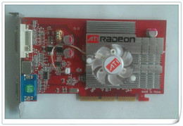 Wholesale NEW original ATI Radeon MB AGP DDR2 x x video Card FORM factory low end AGP video graphic card CD Driver
