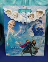 australia bag supplies - Australia Hot sale Frozen Loot Bags Birthday Party Decoration Frozen Gift bags Party Supplies small size Free Ship