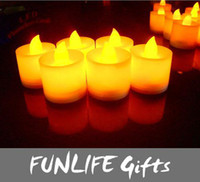 Wholesale funlife Christmas Promotions quot FLICKER LIGHT FLAMELESS LED TEALIGHT TEA CANDLES NEW