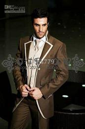 Groom tuxedo man attire suit wedding suit (Clothes+Pants+tie) suits